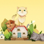 Three Cats [LG Home]