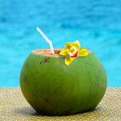 coconut juice Wallpaper